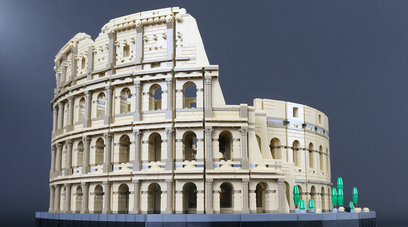 LEGO Architecture Creator Expert 10276 Colosseum Review Title 2
