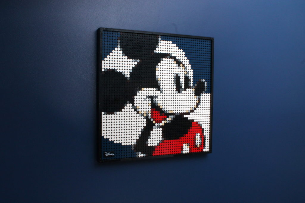 LEGO Art 21302 Disneys Mickey Mouse Review 12