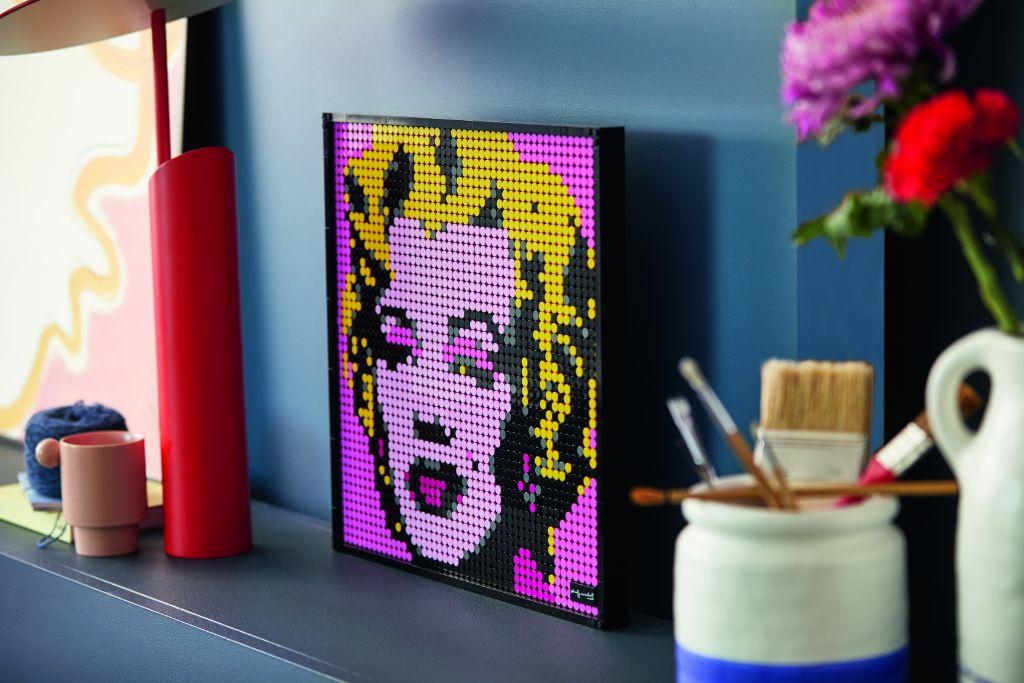 LEGO Art 31197 Andy Warhols Marilyn Monroe 2