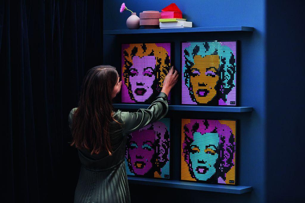 LEGO Art 31197 Andy Warhols Marilyn Monroe 3