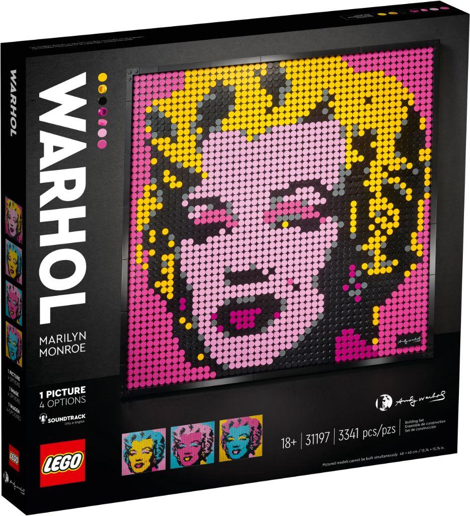 LEGO Art 31197 Andy Warhols Marilyn Monroe 4
