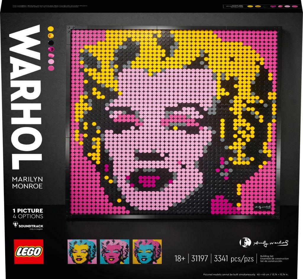 LEGO Art 31197 Andy Warhols Marilyn Monroe 5