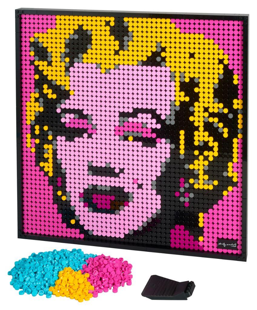 LEGO Art 31197 Andy Warhols Marilyn Monroe 7