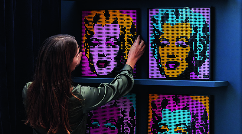 LEGO Art 31197 Andy Warhols Marilyn Monroe Featured 2 800x445