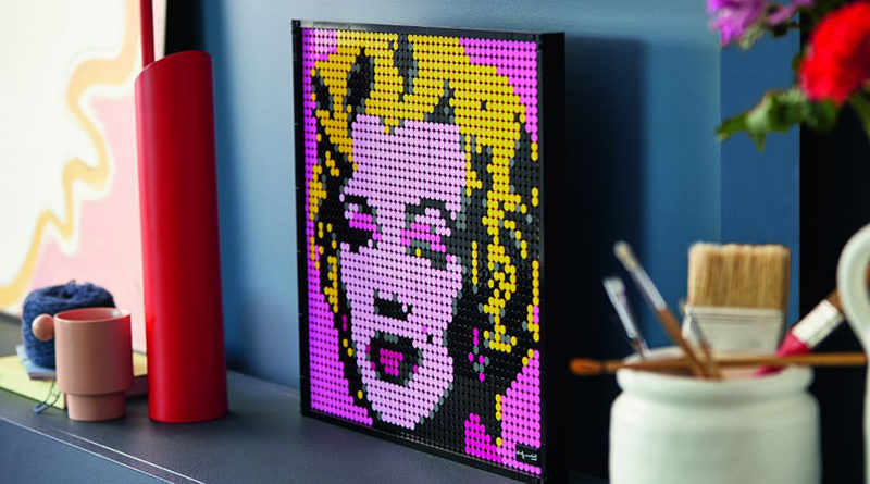 LEGO Art 31197 Andy Warhols Marilyn Monroe Featured 800x445