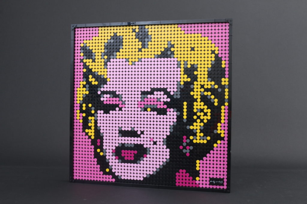 LEGO Art 31197 Andy Warhols Marilyn Monroe review 13