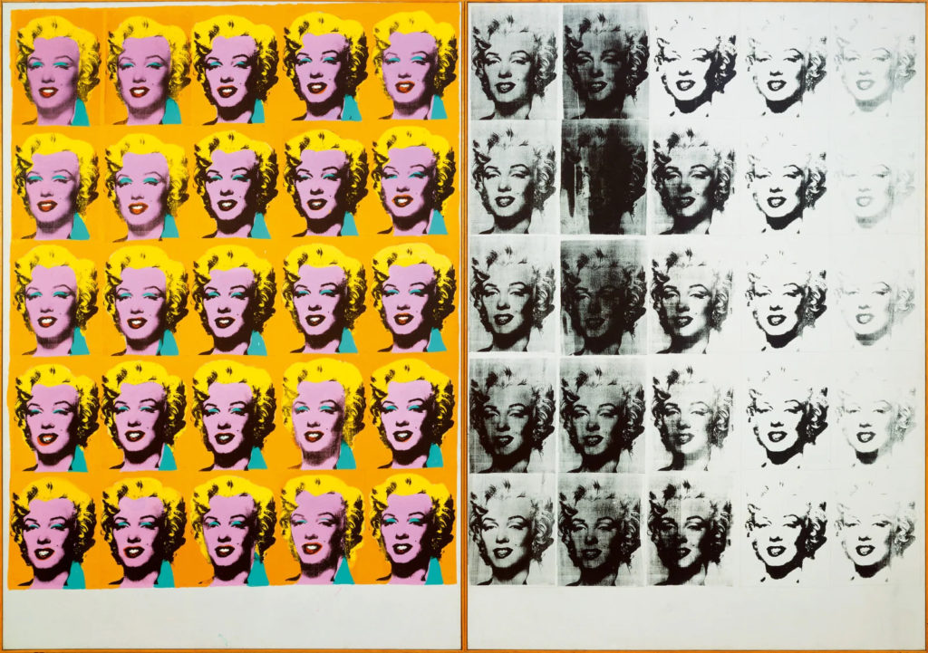 LEGO Art 31197 Andy Warhols Marilyn Monroe review 14 Marilyndiptych 1