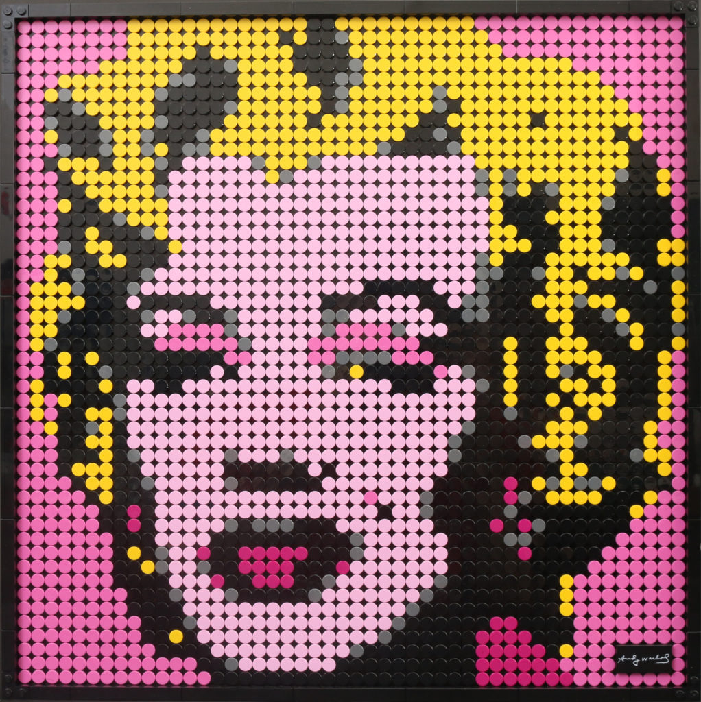 LEGO Art 31197 Andy Warhols Marilyn Monroe Review 17
