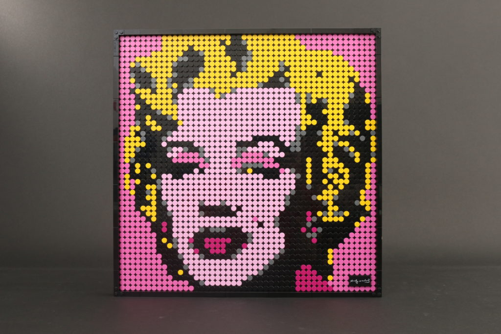 LEGO Art 31197 Andy Warhols Marilyn Monroe review 1i 1