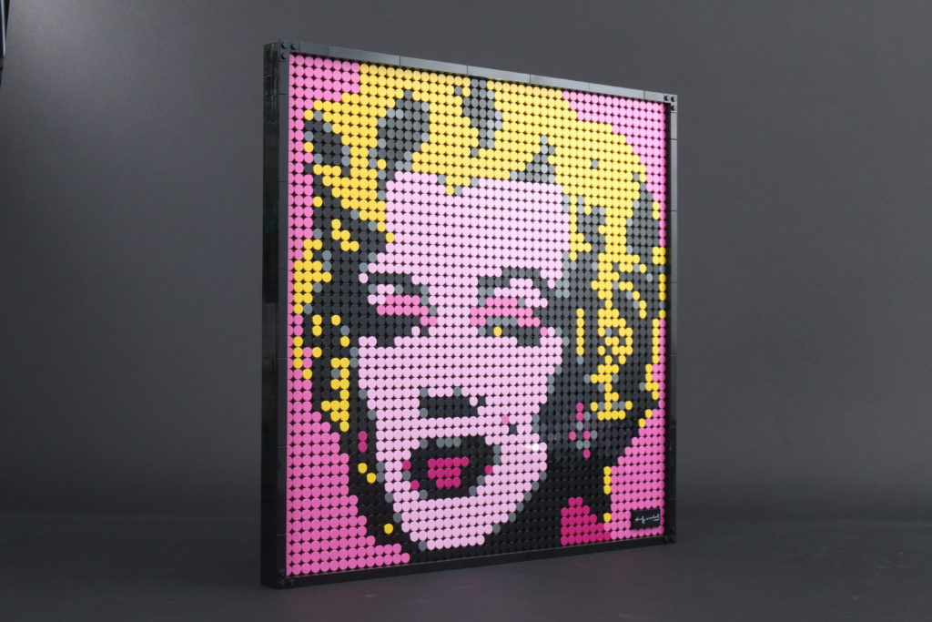 LEGO Art 31197 Andy Warhols Marilyn Monroe Review 2