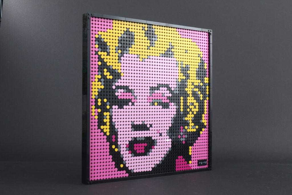 LEGO Art 31197 Andy Warhols Marilyn Monroe review 2