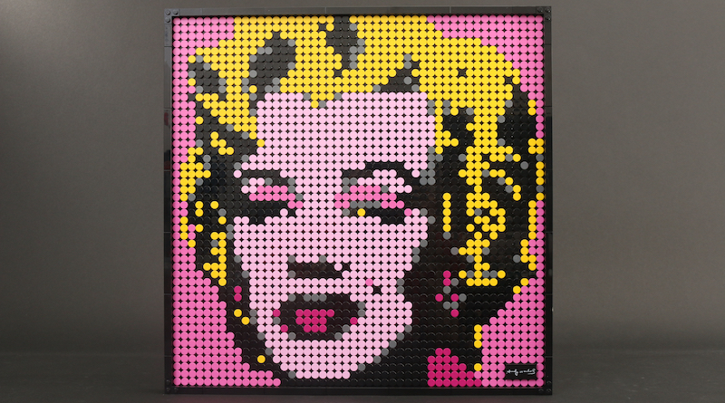 LEGO Art 31197 Andy Warhols Marilyn Monroe Review Title