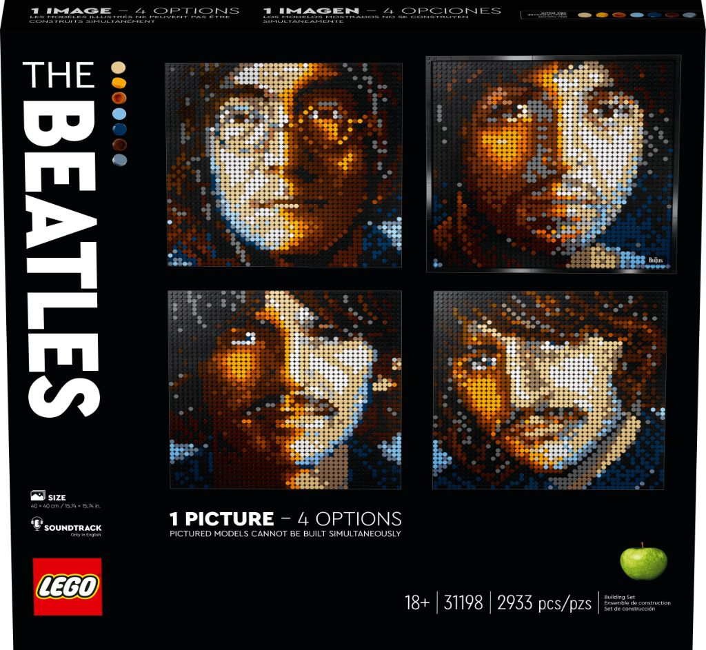 LEGO Art 31198 The Beatles 2