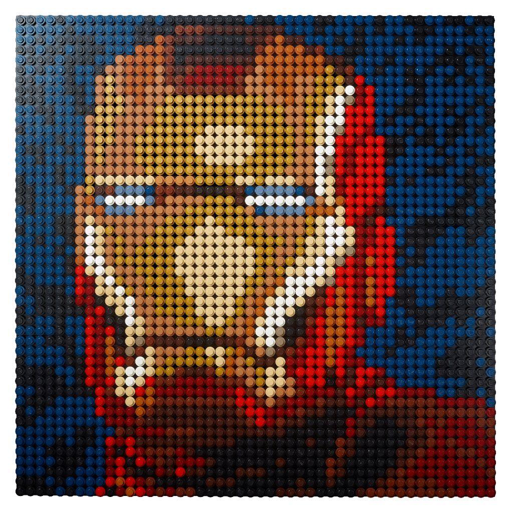 LEGO Art 31199 Marvel Studios Iron Man 1