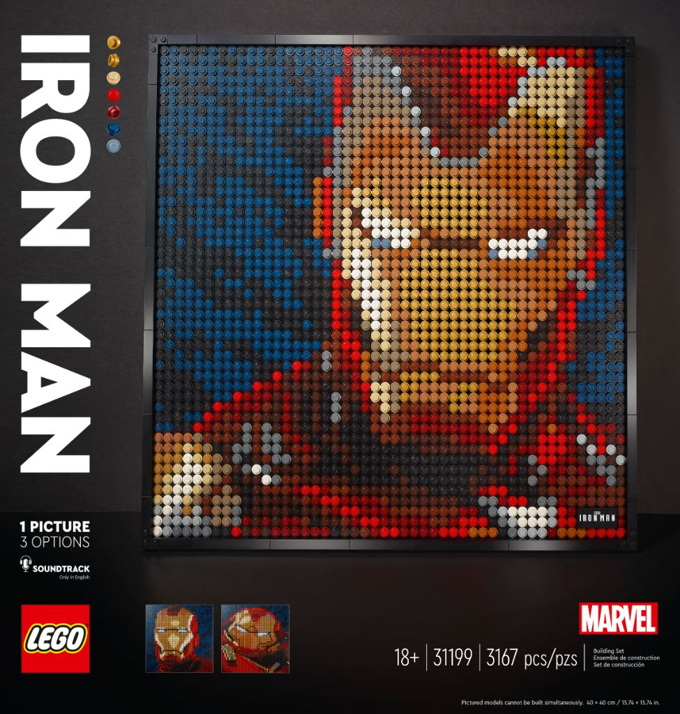 LEGO Art 31199 Marvel Studios Iron Man 10