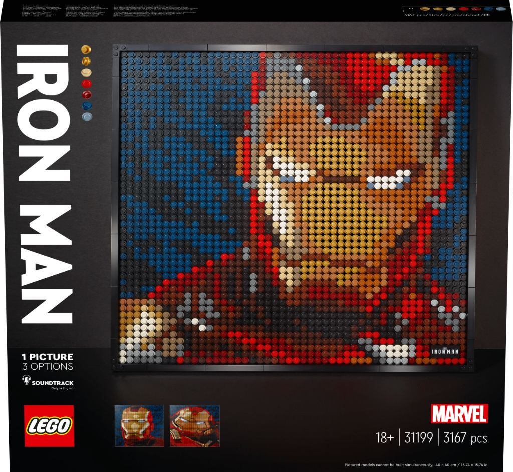 LEGO Art 31199 Marvel Studios Iron Man 11