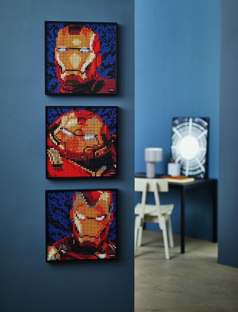 LEGO Art 31199 Marvel Studios Iron Man 27