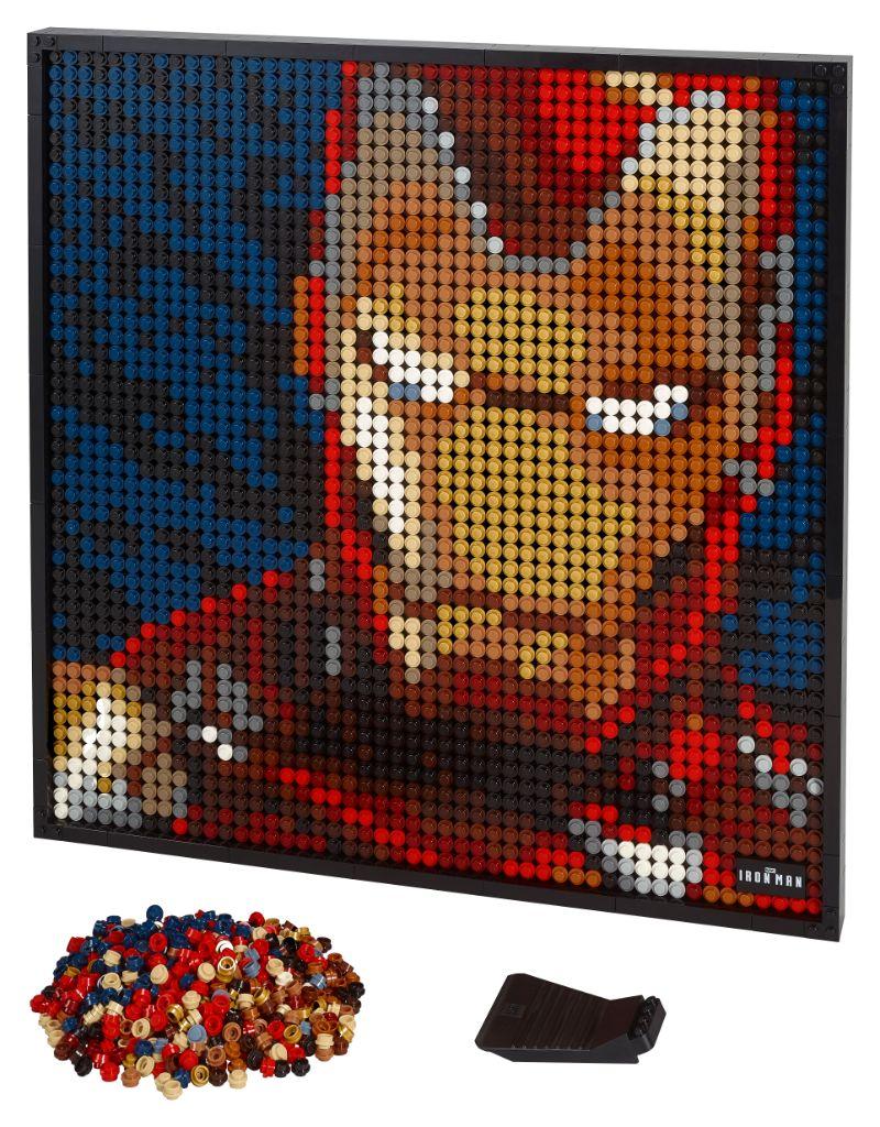 LEGO Art 31199 Marvel Studios Iron Man 28