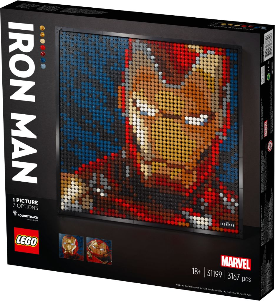 LEGO Art 31199 Marvel Studios Iron Man 7