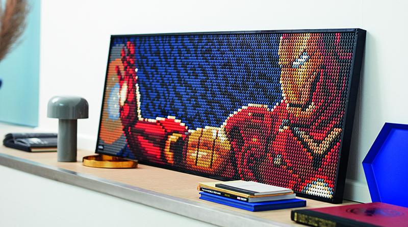 LEGO Art 31199 Marvel Studios Iron Man Featured