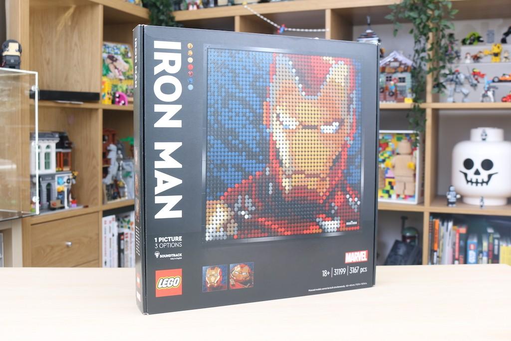 LEGO Art 31199 Marvel Studios Iron Man Review 1