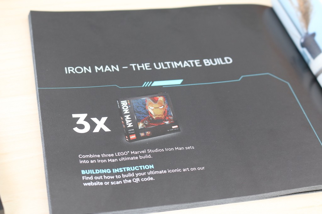 LEGO Art 31199 Marvel Studios Iron Man Review 18