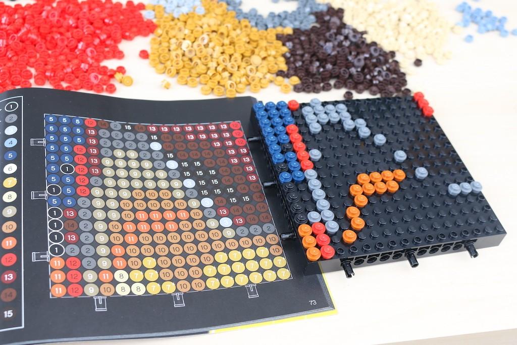LEGO Art 31199 Marvel Studios Iron Man Review 27
