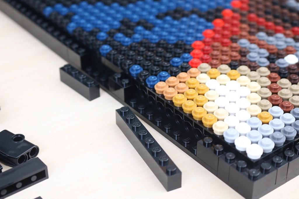 LEGO Art 31199 Marvel Studios Iron Man Review 47