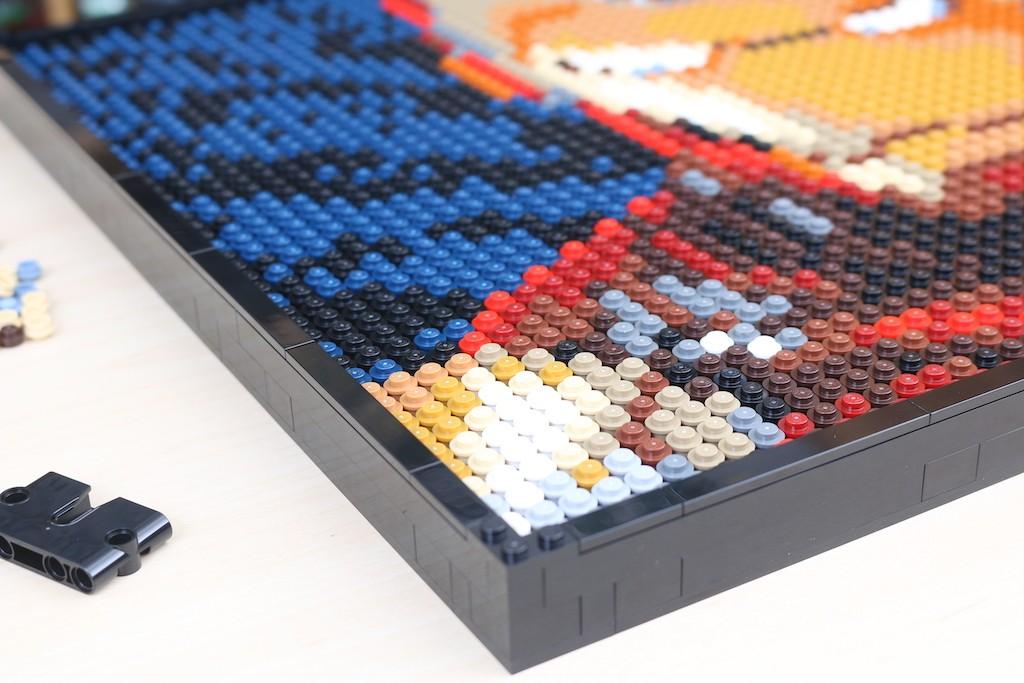 LEGO Art 31199 Marvel Studios Iron Man Review 50