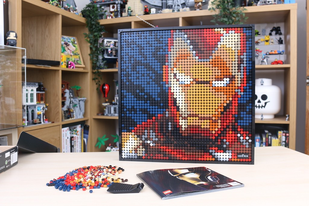 LEGO Art 31199 Marvel Studios Iron Man Review 54
