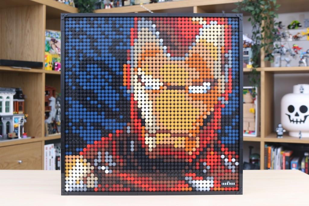 LEGO Art 31199 Marvel Studios Iron Man Review 57