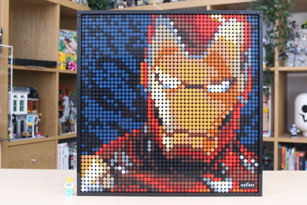LEGO Art 31199 Marvel Studios Iron Man Review 58