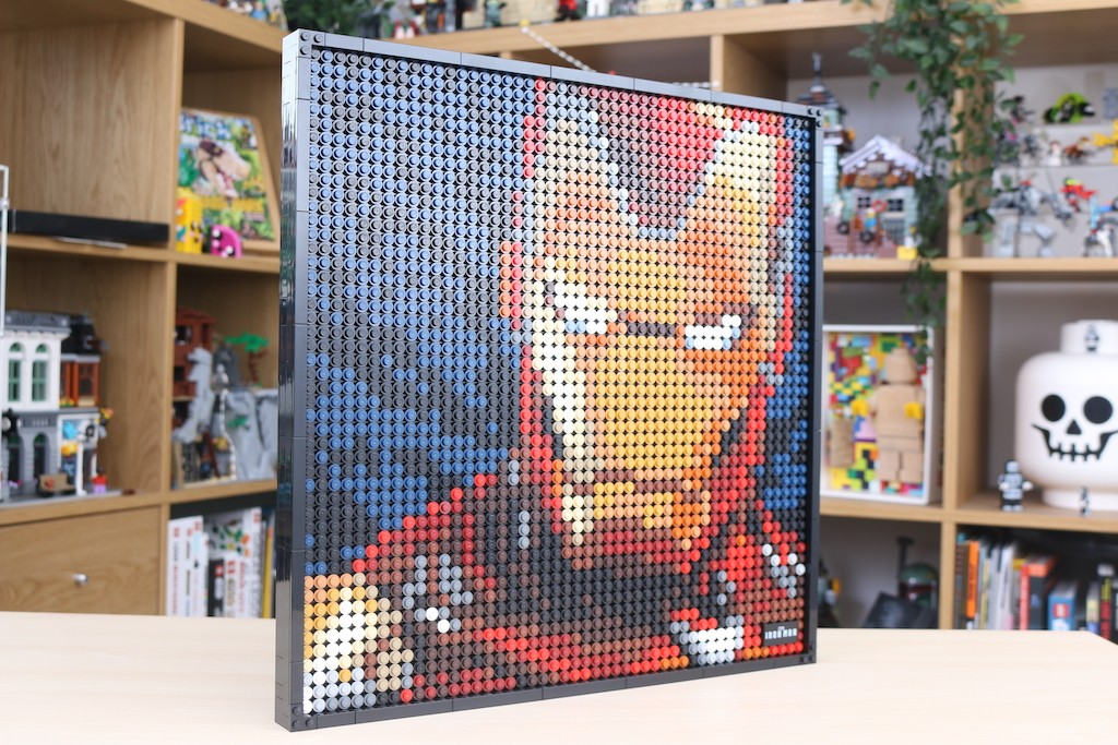 LEGO Art 31199 Marvel Studios Iron Man Review 59