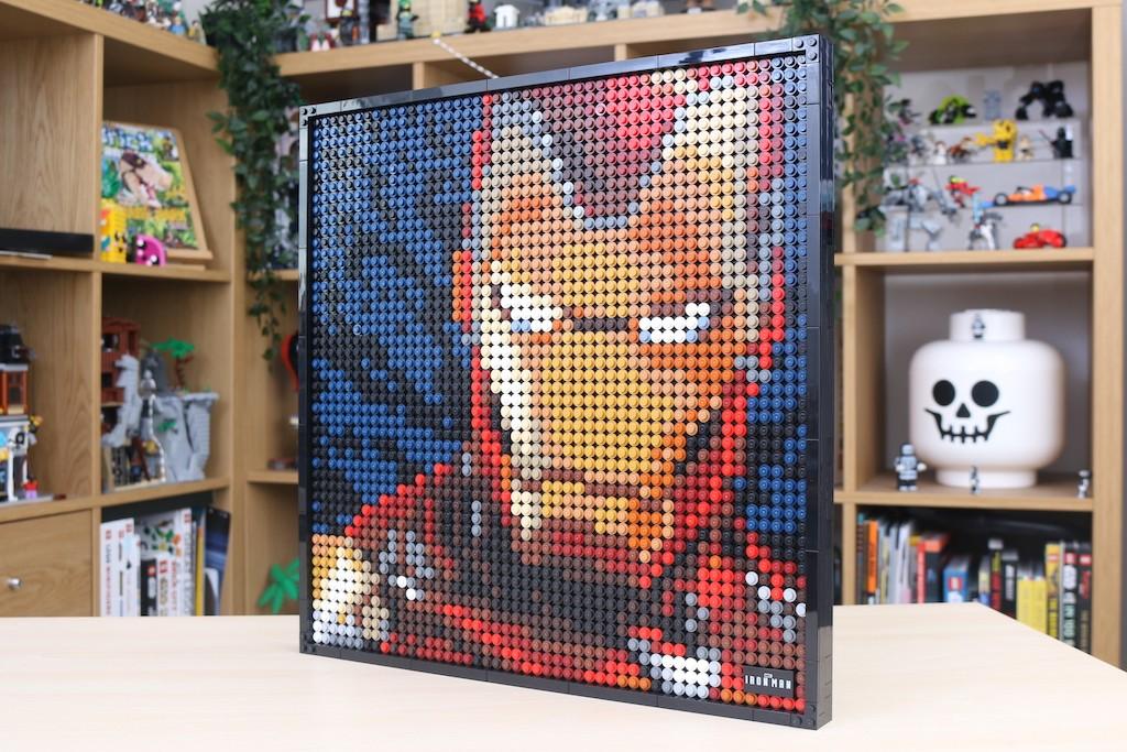LEGO Art 31199 Marvel Studios Iron Man Review 60