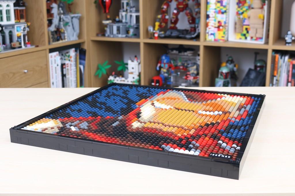 LEGO Art 31199 Marvel Studios Iron Man Review 62