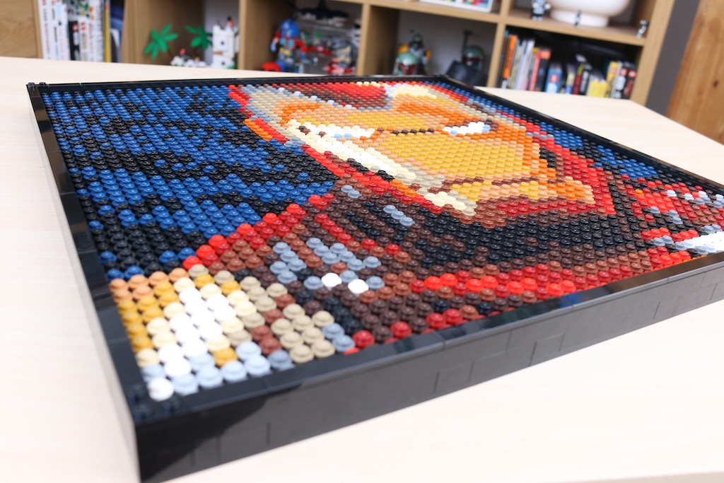 LEGO Art 31199 Marvel Studios Iron Man Review 65