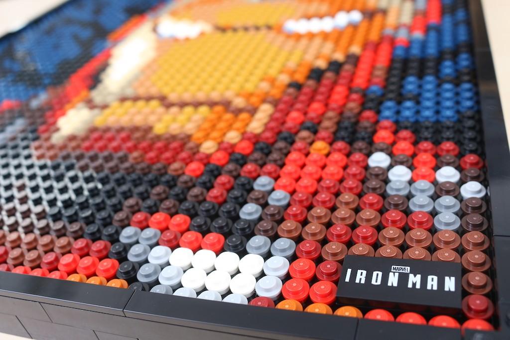 LEGO Art 31199 Marvel Studios Iron Man Review 66
