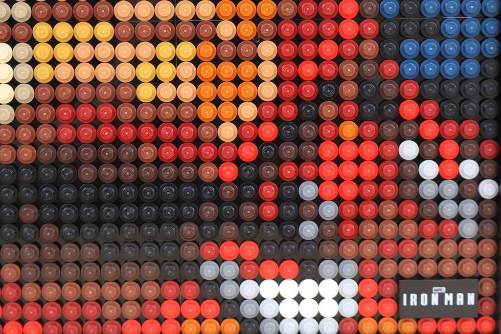 LEGO Art 31199 Marvel Studios Iron Man Review 69