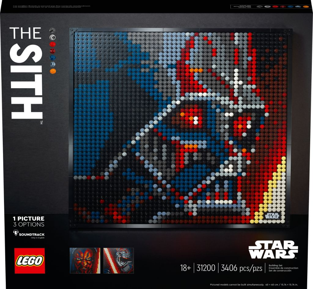 LEGO Art 31200 Star Wars The Sith 2