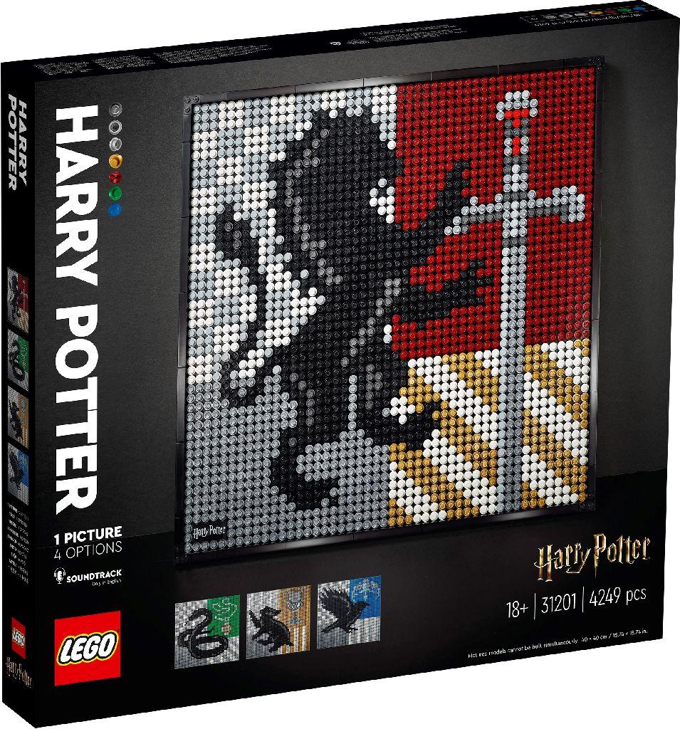 LEGO Art 31201 Harry Potter Hogwarts Crest 4