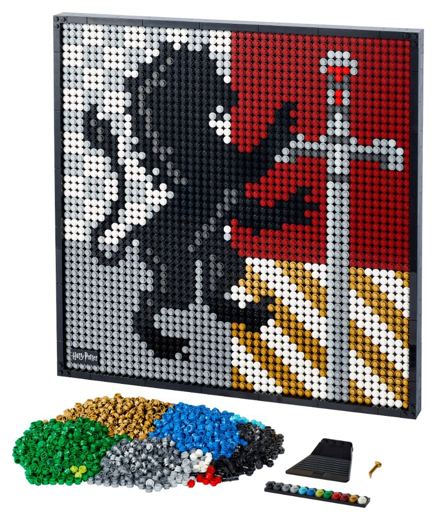 LEGO Art 31201 Harry Potter Hogwarts Crests 6