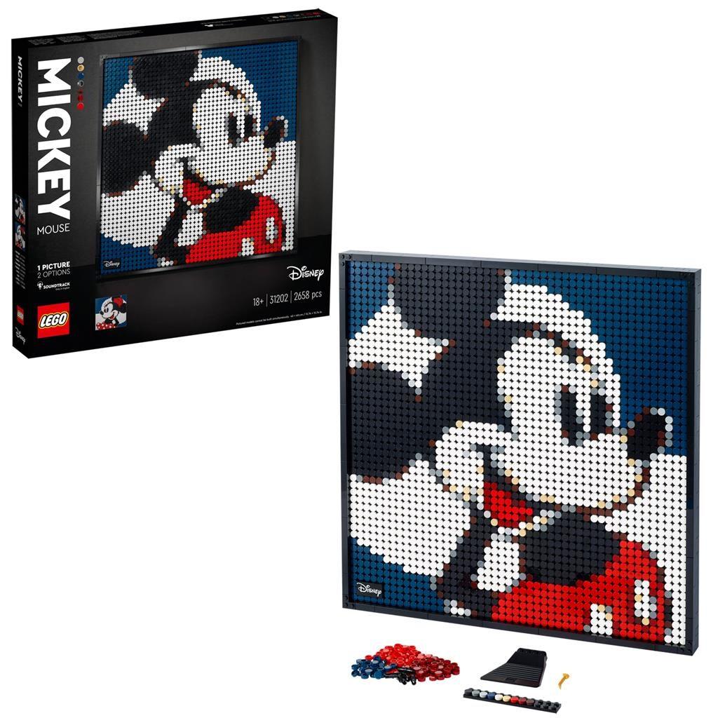 LEGO Art 31202 Disneys Mickey Mouse 1 1024x1024