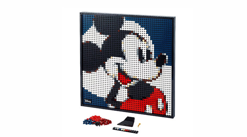 LEGO Art 31202 Disneys Mickey Mouse Featured 800x445