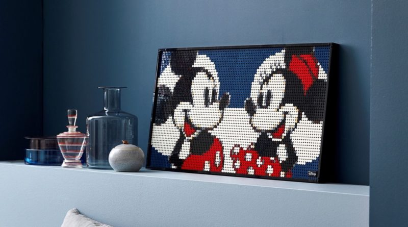 LEGO Art 31203 Mickey Mouse featured