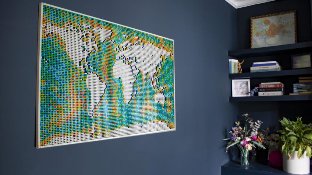 LEGO Art 31203 World Map 1