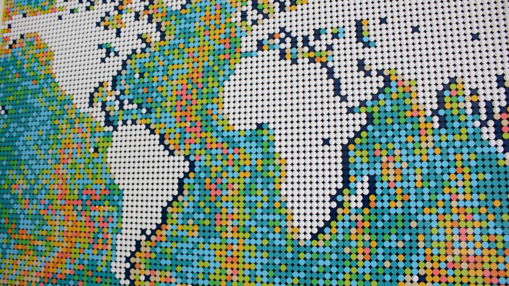 LEGO Art 31203 World Map 10