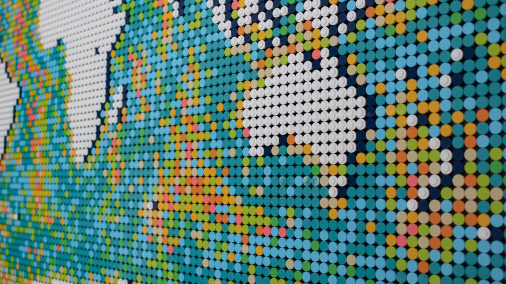 LEGO Art 31203 World Map 11