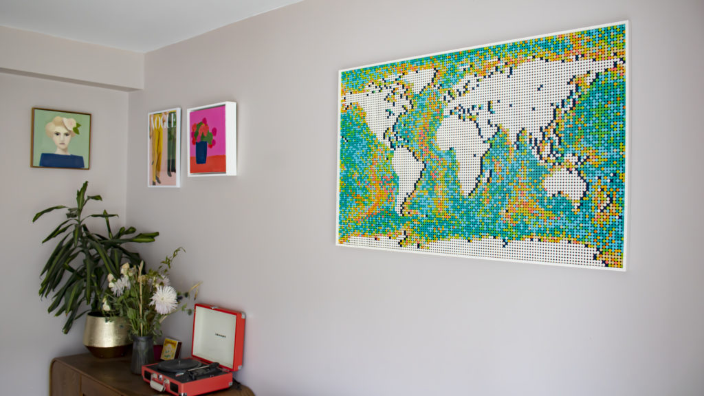LEGO Art 31203 World Map 2