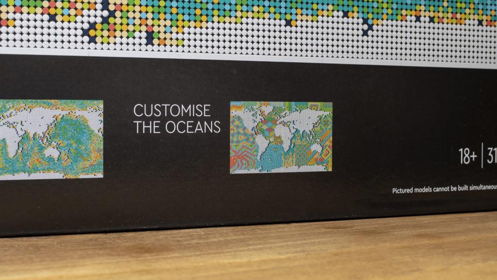 LEGO Art 31203 World Map 30