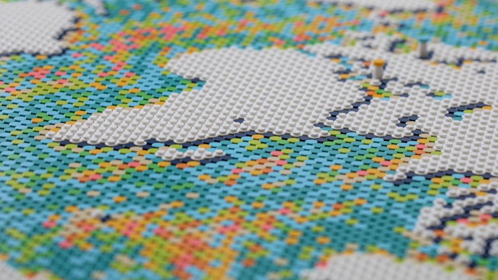 LEGO Art 31203 World Map 33